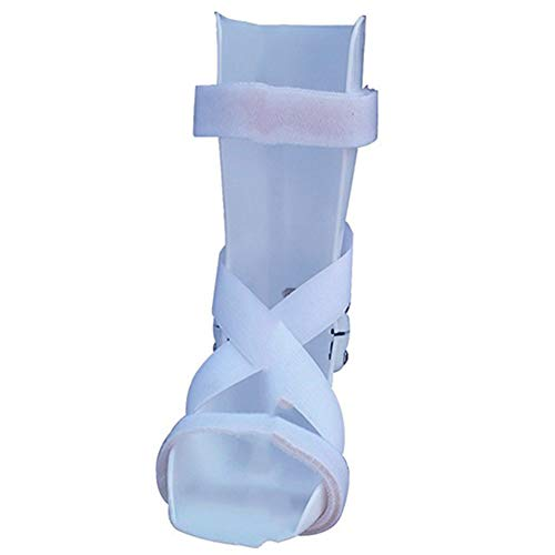 Olpchee Polypropylene Kid AFO Drop Foot Support Splint Ankle Durable Comfortable Foot Orthosis Support for Children Baby Right Foot (M)