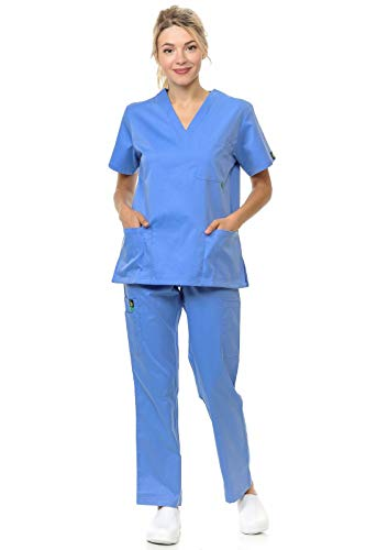 Citron Collection Soft Medical Uniform Women and Men Scrubs - Mens Womens Uniform