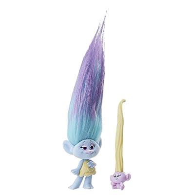 DreamWorks Trolls Hair Raising Chenille and Troll Baby: Toys & Games