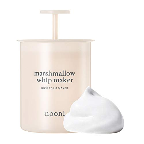 NOONI Marshmallow Whip Maker Pink | Skin Care Foam Maker to Use With Facial Cleanser | Can Use With Korean Face Wash to Make Foaming Face Wash