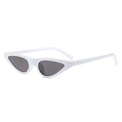 6e763f3973 Gafas de sol Retro Cat Eye para mujer, tamaño pequeño, triángulo, gafas de