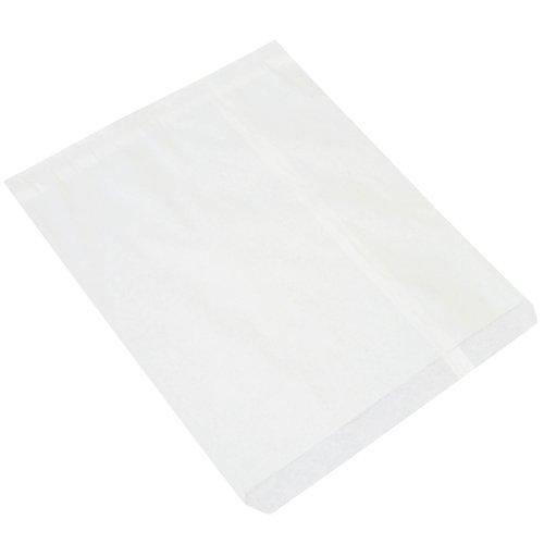 Partners Brand PBGM109W Flat Merchandise Bags, 15