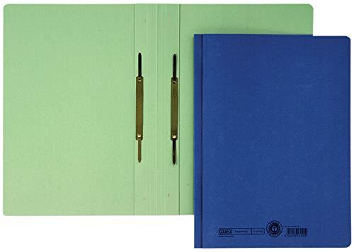 DIN A4 ELBA Doppelhefter 320 g//qm Manilakarton blau