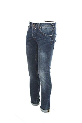 Jeans Uomo 0/zero Construction 35 Denim Fabaco/s Sws531 Primavera Estate 2018