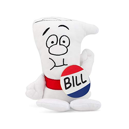 Schoolhouse Rock! Bill Plush Character | I'm Just A Bill Fan Favorite Collectible Plush | 9.5 Inches Tall