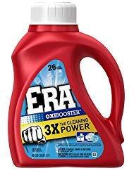 Laundry Detergent 3542566044724 1 Pack Era with Oxi Booster HEC Liquid 26 Loads 50 fl oz (1.47 L)
