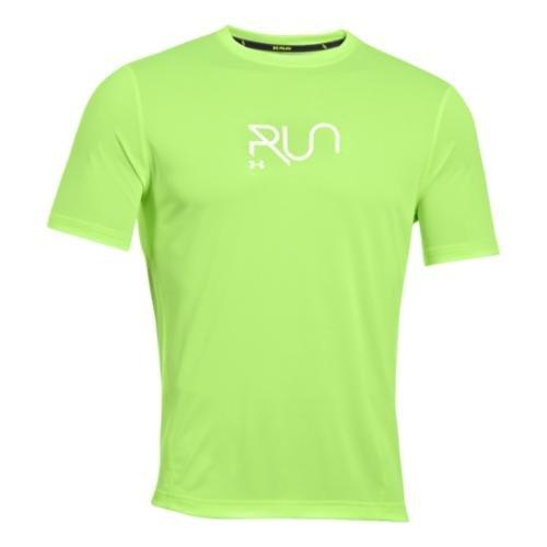 Camiseta UA Illegal Turn para hombre X-Large HYPER GREEN