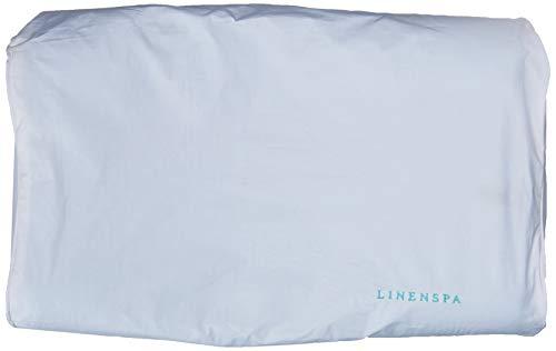 Linenspa Gel Memory Foam Contour Pillow, High Loft, Standard, White