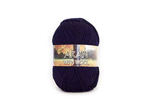 Navy Wool Choice Malham With 400 519 400g G Dy 512 Aran YvwqxO44H