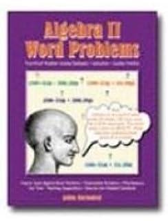 Amazon com: Algebra Word Problems, Book 1 (9780894557996