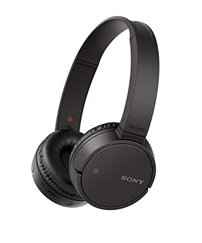 - Sony WH-CH500 Wireless On-Ear Headphones, Black (Renewed)
