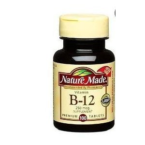 (Natrul Health Vitamin B-12 250 Mcg Tablets - 100 Ea (pack of 1))