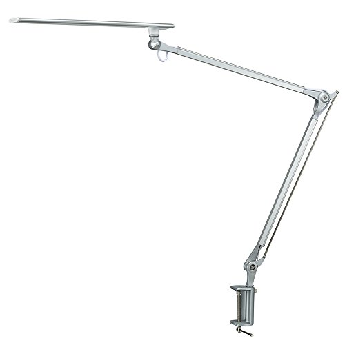 Phive CL-1 LED Architect Desk Lamp/Clamp Lamp, Metal Swing Arm...