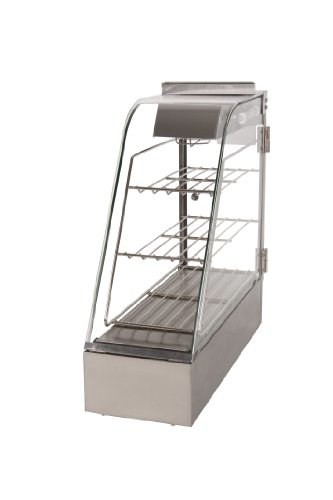 Wisco 323HH-7 Food Warming and Merchandising Cabinet, 7'' by Wisco