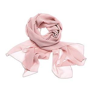 Dresstells Women's Bridal Chiffon Shawl Long Evening Scarves Wraps