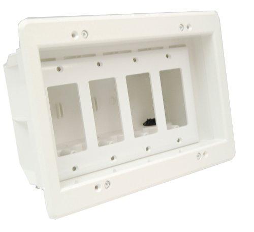 Arlington DVFR4W 1 Recessed Electrical Paintable