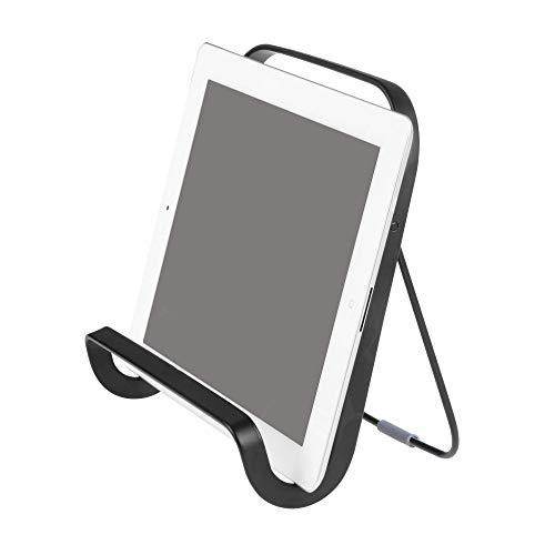 InterDesign Austin Metal Tablet and Cookbook Holder, Versatile Kitchen Countertop Stand, 7.75