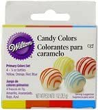 Wilton Candy Color Set, Primary