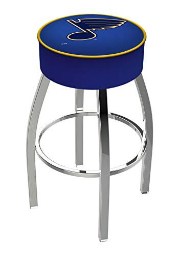 Holland Bar Stool NHL L8C1 St Louis Blues Swivel Counter Stool, 25