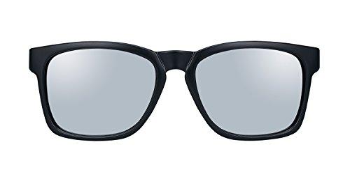 Men's Polarized Rectangular Plastic Sunglasses - Sunglasses Warehouse Discount