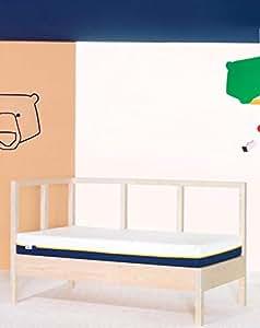 Tediber Colchoncito Tedi by Colchón Cuna 70 x 140 cm- Soporte Columna Vertebral- antialérgico
