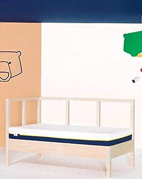 Tediber Colchoncito Tedi by Colchón Cuna 60 x 120 cm- Soporte Columna Vertebral- antialérgico