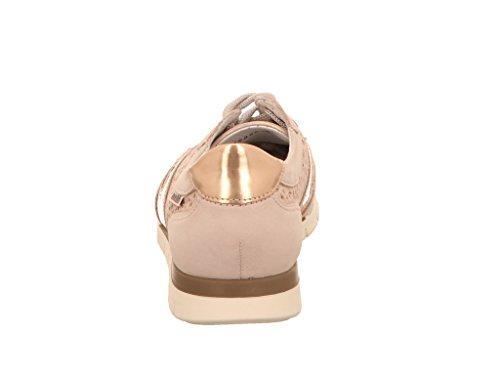 à Pour Chaussures Lacets Ville Beige Femme Mephisto de wqORvKyyC