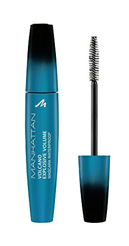 Manhattan Volcano Mascara waterproof 14479, black, 1er Pack