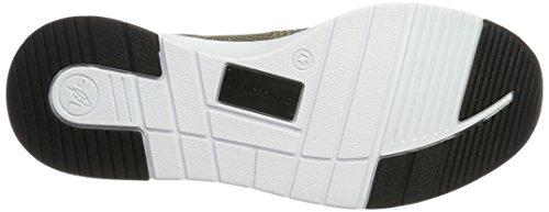 Bugatti Herren Dy01616 Slip On Sneaker Grün (Khaki)