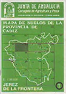 Amazon.com: MAPA DE SUELOS DE LA PROVINCIA DE CÁDIZ (1 ...