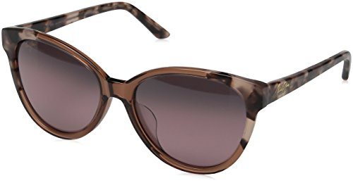 Maui Jim Sunshine Polarized Sunglasses - Women's Pink with Pink Tokyo / Maui Rose One - Heart Face Shaped Best Sunglasses For