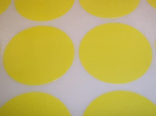 Pack of 60 Rond Points de code de couleur autocollants de prix vierges /étiquettes autocollantes 38mm Audioprint Ltd Rose