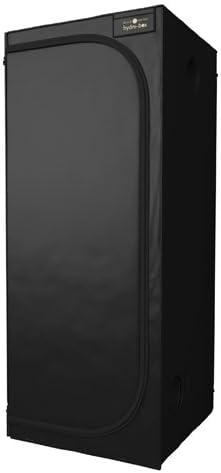 Black Orchid Chambre de culture hydroponique 80x80x200 cm BO-HB-80-80-200
