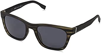 Hugo Boss Men's BOSS 0830/S IR 2Q5 53 Sunglasses, Greyhornblck/Grey