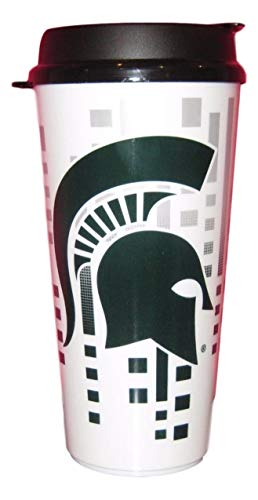 The Memory Company NCAA Michigan State Spartans Hype Travel Cup, 32-Ounce