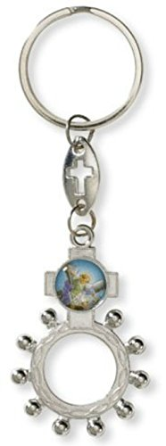 Single Ring Decade (Autom.com St. Michael the Archangel rosary ring)