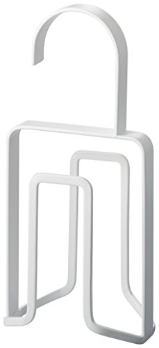 YAMAZAKI home Smart Tie Hanger, White