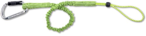 Ergodyne Squids 3108 Heavy-Duty Self-Locking Single Carabiner, Lime ()