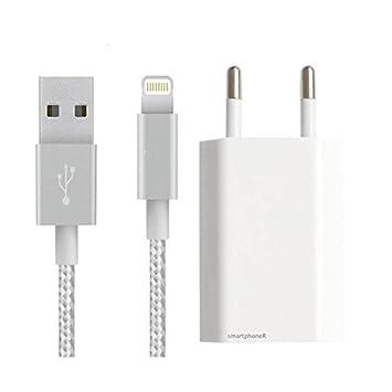 Smartphone accesoires - Cargador con cable USB para iPhone 5 ...