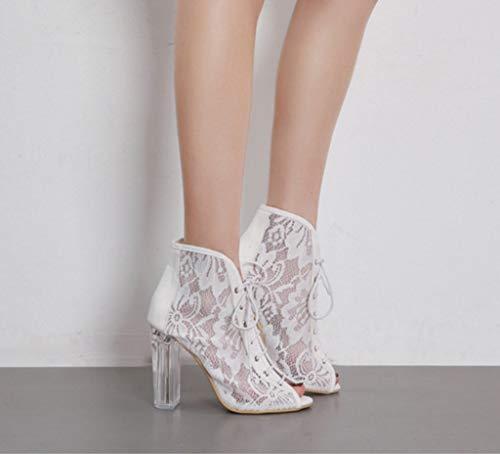 Shoe Alti Tacco in a Colore 35 Alto con Tacchi Comodi da 3 Sposa Dimensioni store Pizzo Lacci qEU1WPrxwE