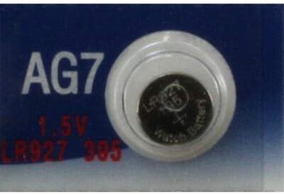 Powertron 30 AG7 LR926 395 195 LR57 LR927 Battery USA Ship Retail Cards
