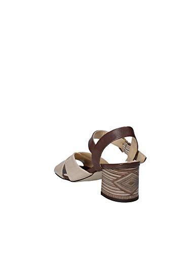 Sandalo Donna 6149 Tacco Mally Marrone qCSBx4