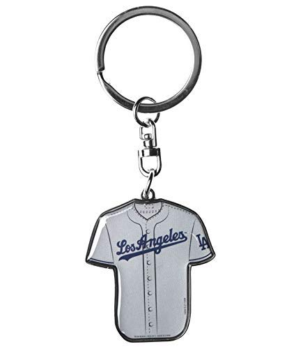 FOCO MLB Los Angeles Dodgers Double Sided Jersey Keychain, One Size, Team Color