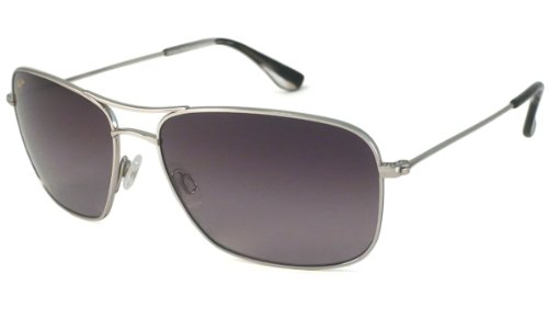 Maui Jim Wiki Wiki Eyewear Silver/Neutral Grey
