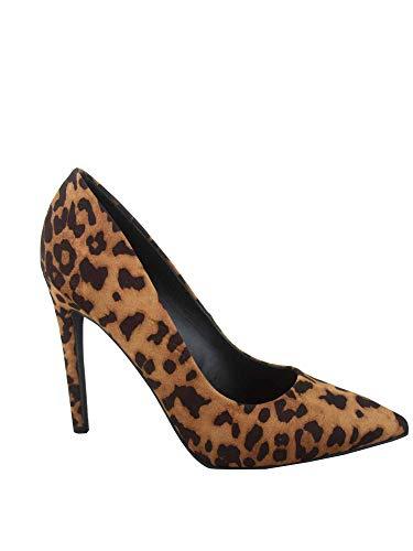 FZ-Cindy-s Women's Classic Fashion Pointy Toe Stiletto High Heel Dress Pump Shoes (11 B(M) US, Tan Cheet)
