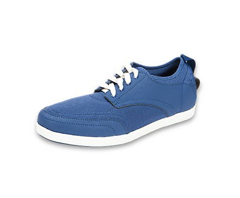 BackJoy StandRight Bliss Mens Lace Shoes Navy/White zKV1dxs8