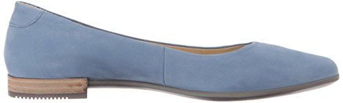 Donna Shape Pointy ECCO Blu Blue Retro Mocassini Ballerina Oavgq