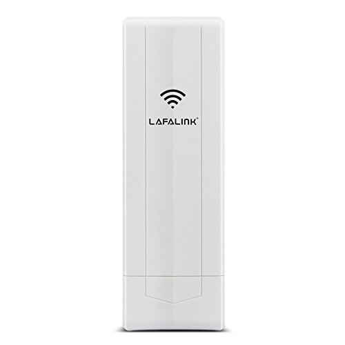WiFi Range Extender 11n 5GHz , Lafalink 900Mbps High Transmission Capability 14dBi Dual-polarized High-gain Panel Antenna waterproof outdoor Wireless Ethernet Bridge CPE,LF-P588 ()