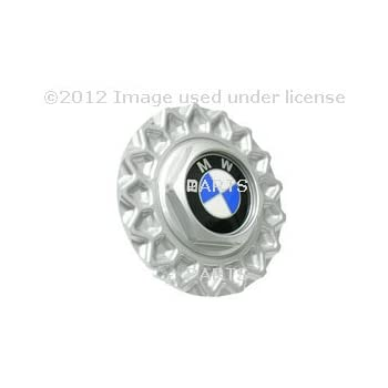 BMW Genuine BBS Wheel Center Hub Cap, 5 Series From 1988 to 1995, 6 Series From 1977 to 1989, 7 Series From 1986 to 1993
