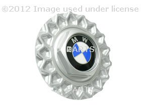 BMW Genuine BBS Wheel Center Hub Cap, 5 Series From 1988 to 1995, 6 Series From 1977 to 1989, 7 Series From 1986 to 1993